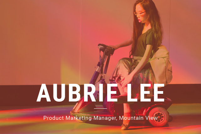 Aubrie Lee, Associate Product Marketing Manager, Mountain View